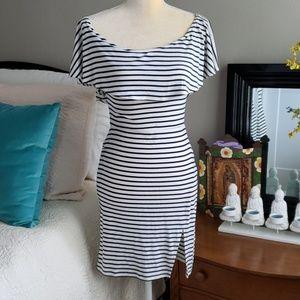 Striped Minidress